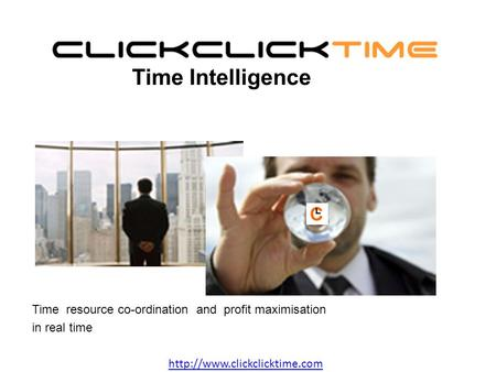 Time resource co-ordination and profit maximisation in real time Time Intelligence