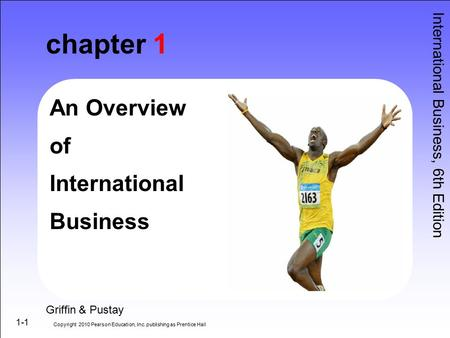 chapter 1 An Overview of International Business