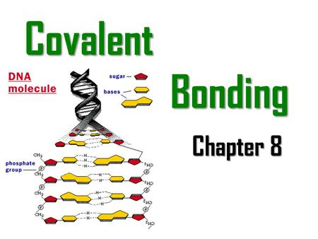 Covalent Bonding Chapter 8. Introduction The bonds that hold atoms of molecules together are fundamentally different from those of ionic compounds. The.