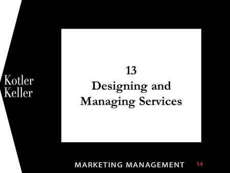 13 Designing and Managing Services