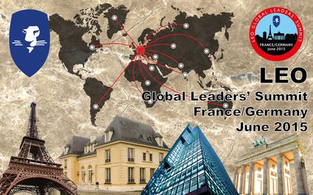 Paris 20th June to Berlin 28th June. A rare opportunity to mix business with pleasure. Meet LEO leaders from around the world and share knowledge. The.