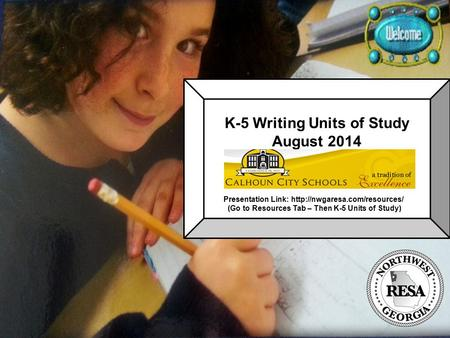 K-5 Writing Units of Study