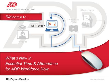 What's New in Essential Time & Attendance for ADP Workforce Now V06231480773WFN70.
