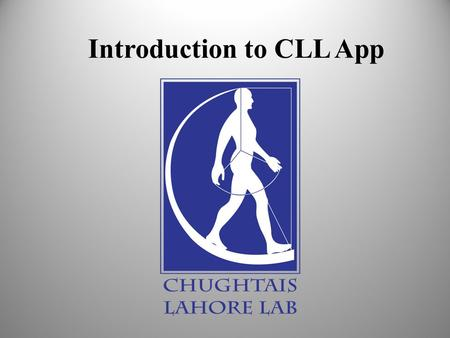 Introduction to CLL App. CLL App is the service to give patients instant and remote access to their reports on their smartphones.