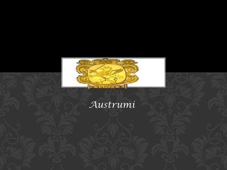 AUSTRUMI Austrumi. AUSTRUMI is a business card size bootable live CD Linux distribution. It is based on Slackware. It was created and is currently being.