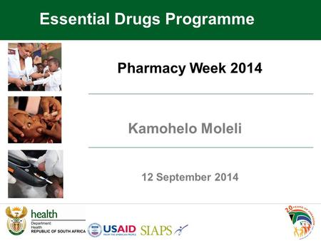 Essential Drugs Programme