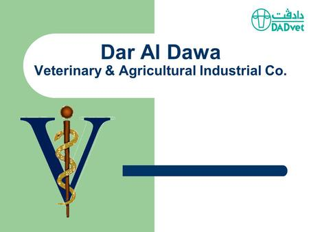 Dar Al Dawa Veterinary & Agricultural Industrial Co.