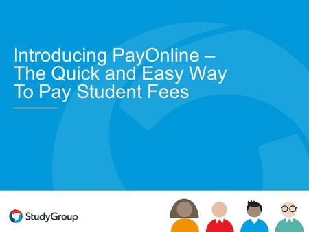 Introducing PayOnline – The Quick and Easy Way To Pay Student Fees.
