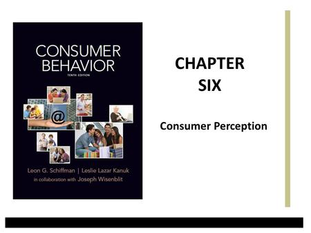 CHAPTER SIX Consumer Perception.