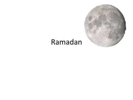 Ramadan Ramadan To consider how denying ourselves something we crave teaches us self-control and makes us more grateful for those things we take for granted.