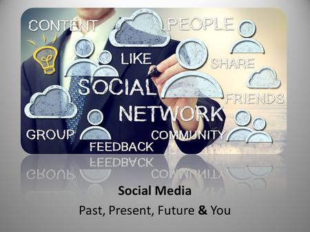 Social Media Past, Present, Future & You. INTRODUCTION D. Patrick CainDamon Nelson.