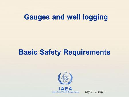 Gauges and well logging