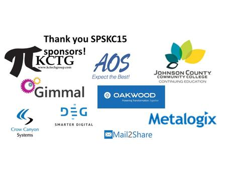 Thank you SPSKC15 sponsors!. SharePoint 2013 Search Service Application (SSA) Ambar Nirgudkar Software Engineer