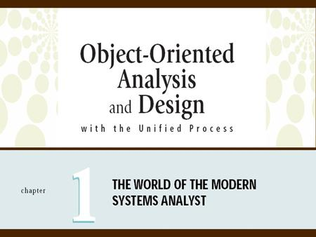 Objectives Explain the key role of a systems analyst in business