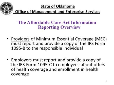 Aca reporting ivee q3 release what needs to be reported - Minimum essential coverage plan design ...