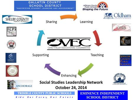 Learning Teaching Enhancing Supporting Sharing Social Studies Leadership Network October 24, 2014.