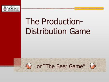 The Production-Distribution Game