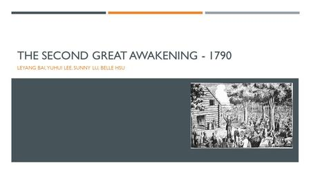the second great awakening and transcendentalism In the second great awakening and the transcendentalists, a synthetic history written for high school and lower‐division collegiate readers, barry hankins considers the nineteenth‐century piece of this puzzle he clearly shows how the protestant revivals shaped american religion and politics but leaves the contribution of.