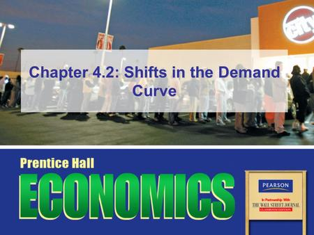 Chapter 4.2: Shifts in the Demand Curve