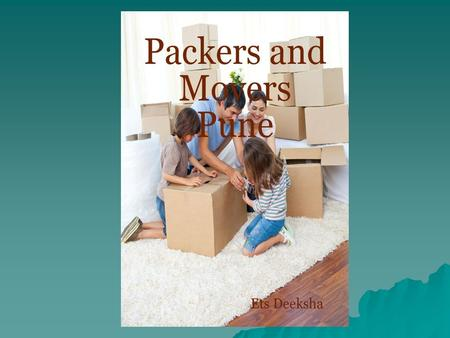 Packers and Movers Pune Offers free quotes of top movers and packers in Pune with charges and services. Compare potential packers and movers Pune to select.