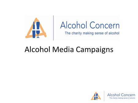 Alcohol Media Campaigns. Conversations about alcohol Hair of the Dog?