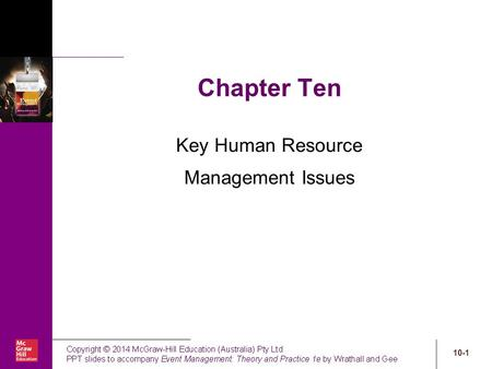 Key Human Resource Management Issues