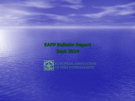 EAFP Bulletin Report Sept 2014. Ms. Submissions 2004 – Oct 2014.