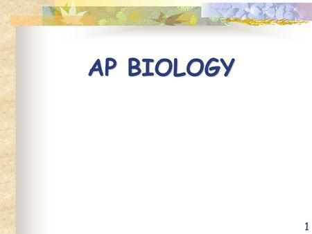 1 AP BIOLOGY. 2 3 Testing Information Date: Mon. May 11,2015 Content: Four Big Ideas Evolution Energy and Living Systems Processes of Living Systems.