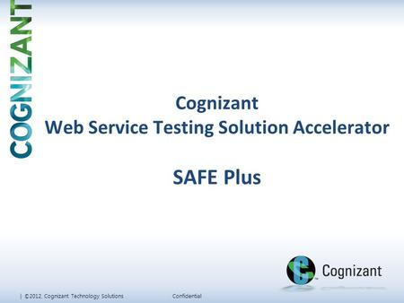 Web Service Testing Solution Accelerator