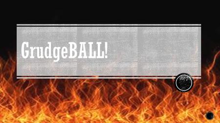 GrudgeBALL!. Set up  Break up into 5 teams and sit together  Each team receives one whiteboard, one marker and one eraser  Each team gets 10 x's on.