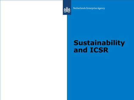 Sustainability and ICSR. FIETS: Financial Institutional Ecological Technological Social.