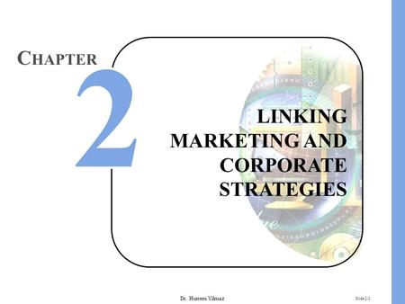 Dr. Hurrem Yilmaz Slide 2-2 LINKING MARKETING AND CORPORATE STRATEGIES C HAPTER.
