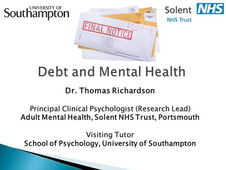 Adult Mental Health, Solent NHS Trust, Portsmouth