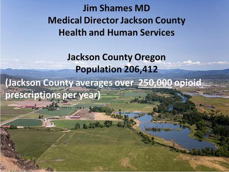 Medical Director Jackson County Health and Human Services
