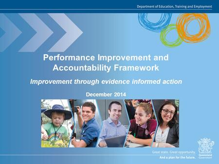 Performance Improvement and Accountability Framework