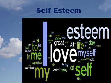Self Esteem. Be yourself; everyone else is already taken. Oscar Wilde.