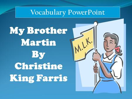 Vocabulary PowerPoint