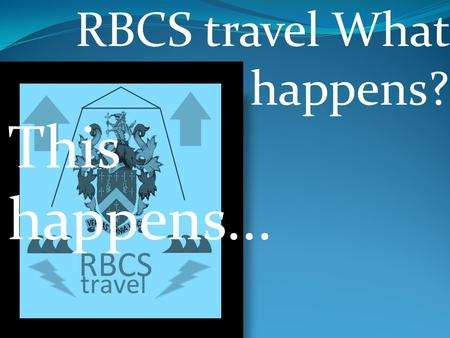 RBCS travel What happens? This happens.... Contents all-rounder romantic retired kids.