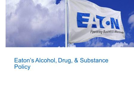 Eaton's Alcohol, Drug, & Substance
