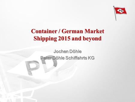Container / German Market Shipping 2015 and beyond