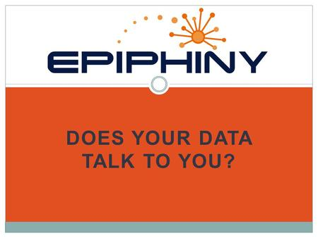 DOES YOUR DATA TALK TO YOU?. A NEW SOFTWARE PLATFORM FOR THE COLLECTION AND ANALYSIS OF ENVIRONMENTAL DATA.
