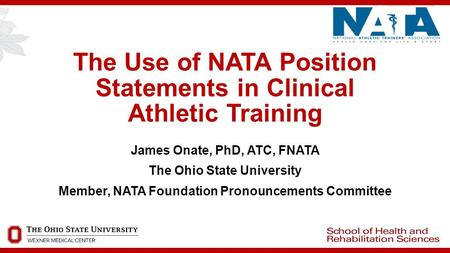 The Use of NATA Position Statements in Clinical Athletic Training