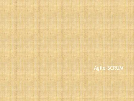 Agile-SCRUM. Introduction to SCRUM Sanil Xavier What is Scrum?