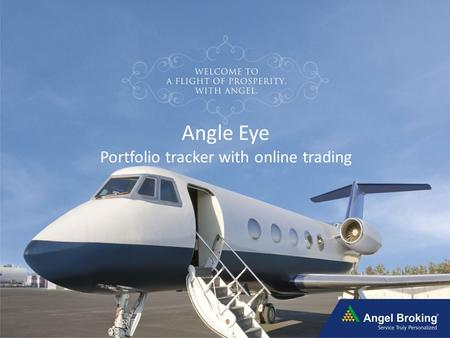 Angle Eye Portfolio tracker with online trading.
