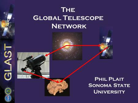 The Global Telescope Network Phil Plait Sonoma State University.