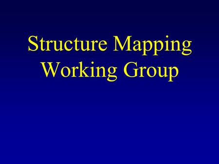 Structure Mapping Working Group. RNA Secondary Structure Experimental Constraints: Enzymatic Cleavage –Paired nucleotides –Unpaired nucleotides FMN Cleavage.