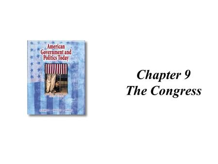 Chapter 9 The Congress.