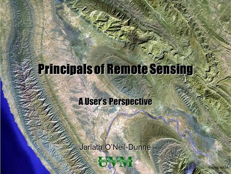 Principals of Remote Sensing