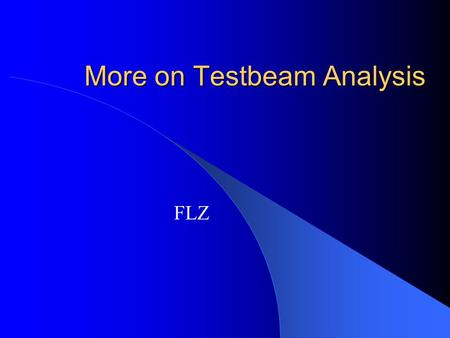 More on Testbeam Analysis FLZ. Stability Checks for TCMT Pedestal stability already shown by Kurt MIP calibration stability Response stability.