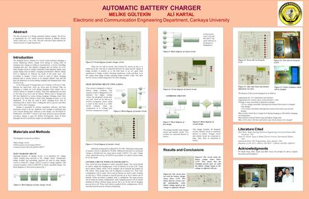 Introduction The designed device consists of a circuit which performs charging, a circuit displaying battery charge level during or resting state of charging.